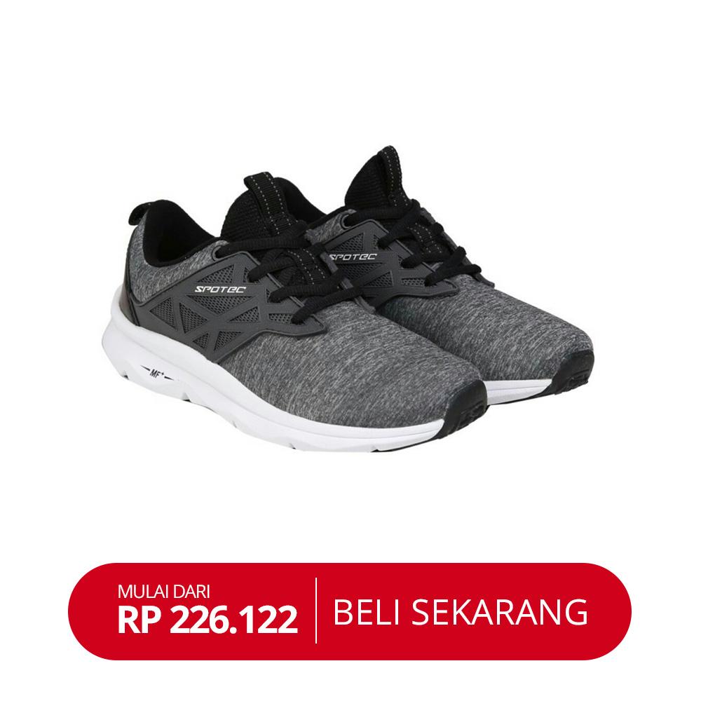 Sepatu running spotec liquid INSPIRASI SHOPEE