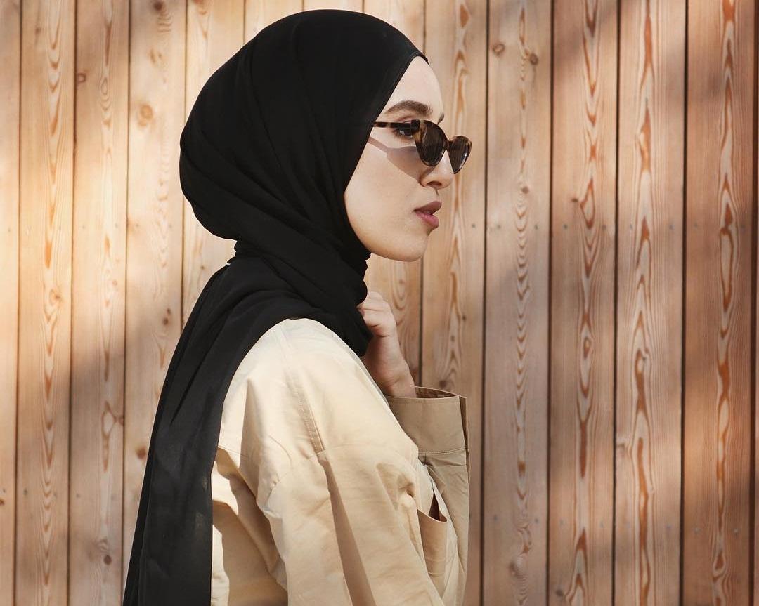 Tutorial Hijab Pashmina Stylish Dan Simple Inspirasi Shopee