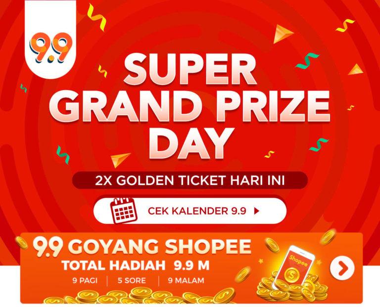 Mengintip Kerennya Hadiah Shopee Super Grand Prize
