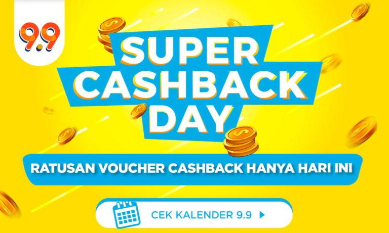 Ada Voucher Apa Aja Sih di Shopee Super Cashback Day? Cek Disini!