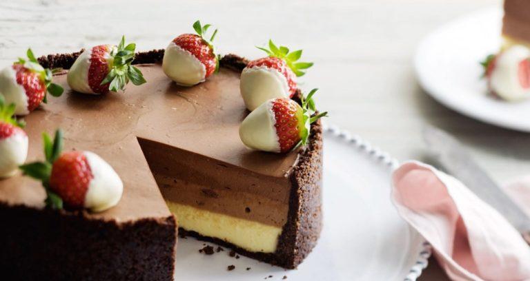 Cara Mudah Bikin No Bake Chocolate Cheesecake!