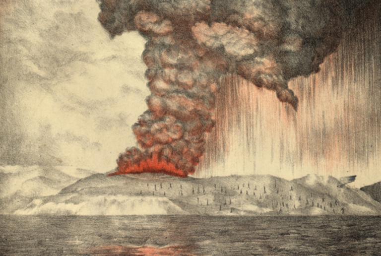 5 Fakta Dahsyatnya Letusan Gunung Krakatau Tahun 1883