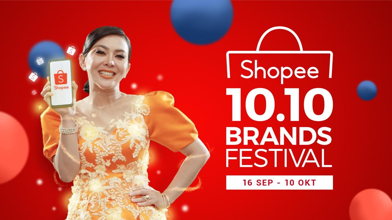 Sepuasnya Belanja Produk Original Di Shopee 10 10 Brands Festival Gratis Ongkir Inspirasi Shopee
