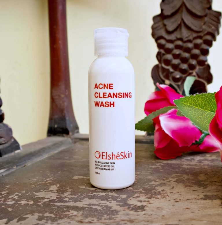 Review Jujur Aja: ElsheSkin Acne Cleansing Wash
