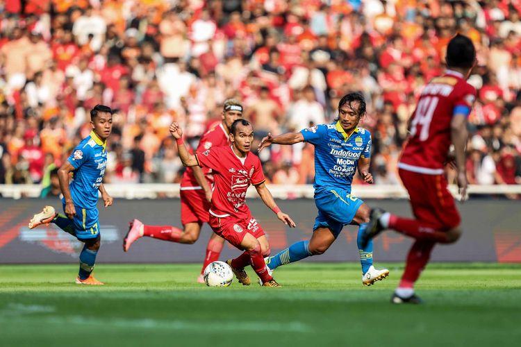 Shopee Liga 1 2019: Persib Bandung vs Persija Jakarta, Duel Klasik Yang Selalu Berakhir Ketat