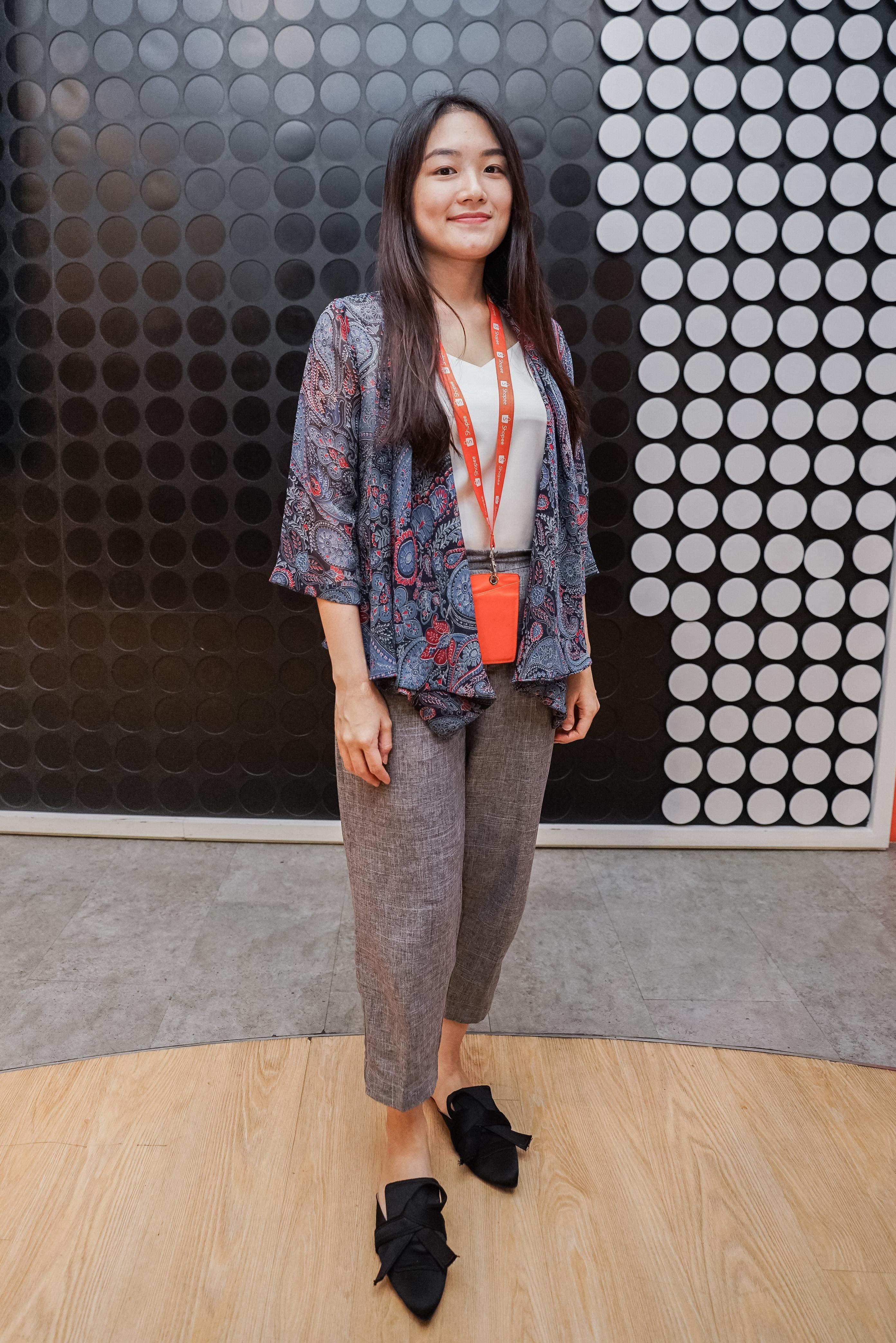 Regina Jonathan dari Tim Business Development