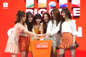 Shopee 11.11 Big Sale bersama GFRIEND