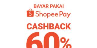 bayar pakai ShopeePay dapatkan cashback 60%