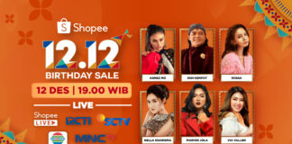 TV Show Shopee 12.12 Birthday Sale