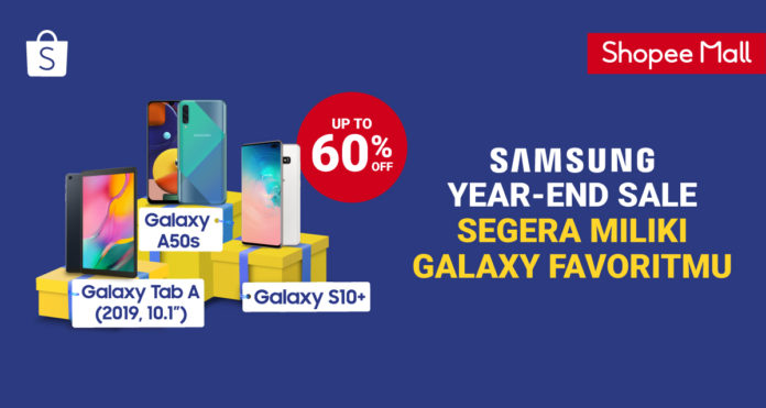 shopee samsung year end sale