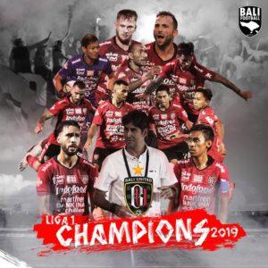 Bali United Juara Shopee Liga 1