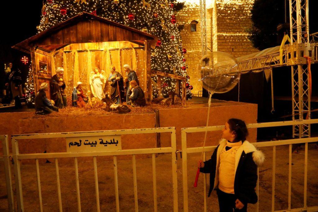 Perayaan Natal di Palestina