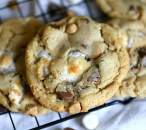 Soft-baked cookies