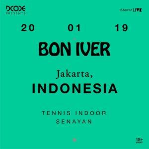 Bon Iver Jakarta 2020