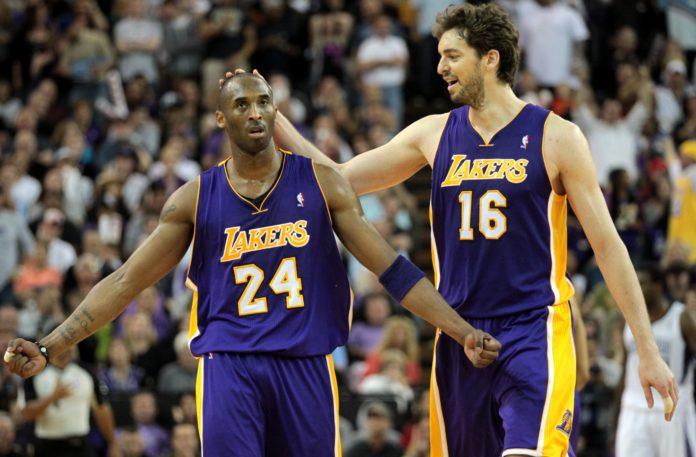 Kobe Bryant dan Pau Gasol