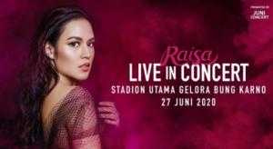 Raisa Live in Concert 2020