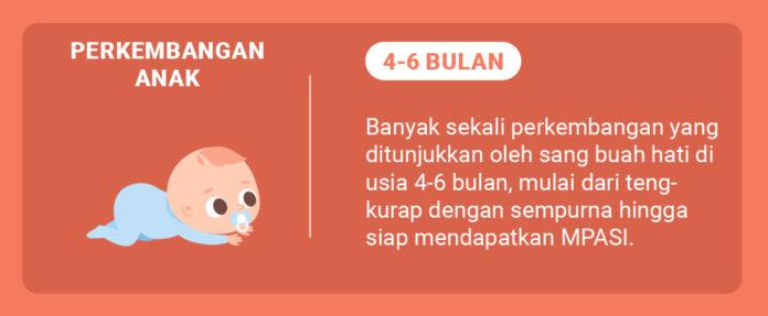 Bayi Usia 4-6 Bulan