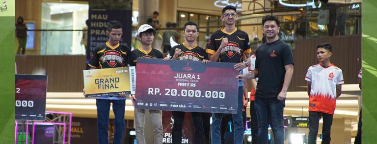 Jagoan Free Fire di Final Regional Timur Piala Presiden Esports 2020!