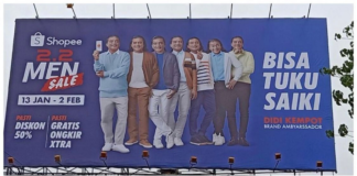 Billboard Shopee Didi Kempot