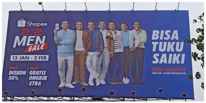 Billboard Shopee Didi Kempot