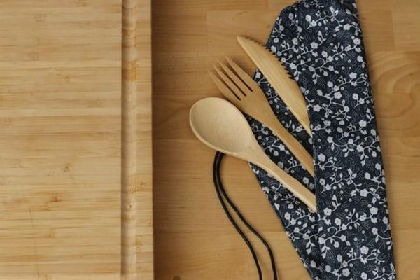 Peralatan Makan Bambu Bamboo Straw