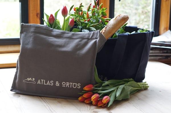 Tas Belanja Produce Bag Tote Bag Gaya Hidup Zero Waste