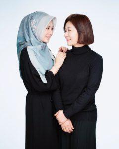 Hijab motif ayana moon