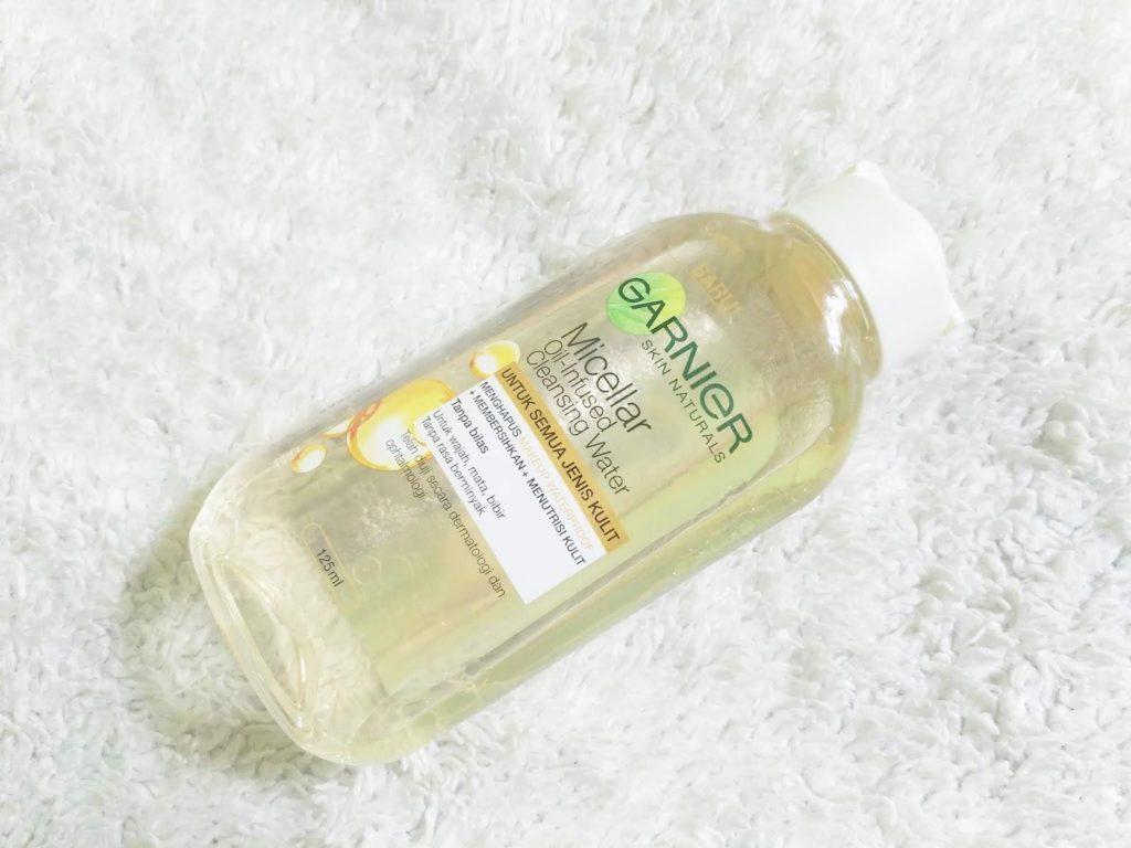 garnier micellar oil-infused cleansing water shopee