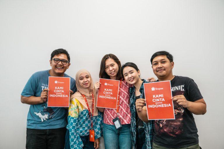 Rayakan Hari Bahasa Ibu Internasional, Shopee Team Suarakan Kampanye Pentingnya Bahasa Daerah
