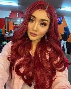 wig merah