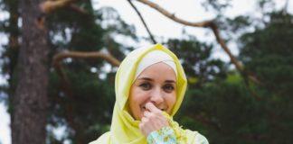 anti lepek hijab
