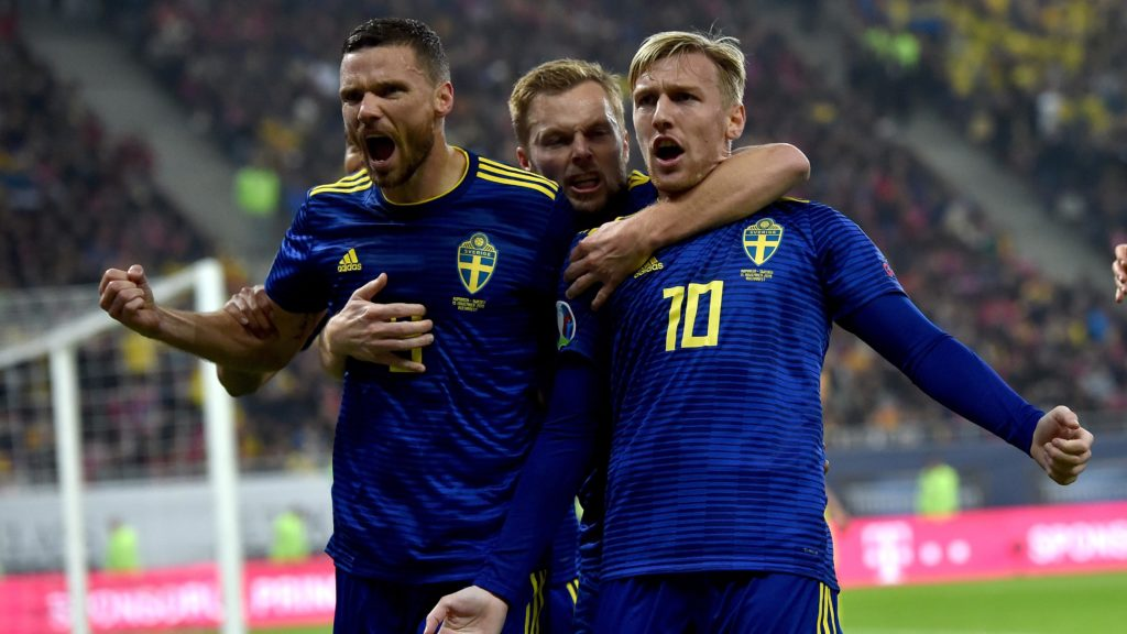 Sweden Sepak bola EURO 2020