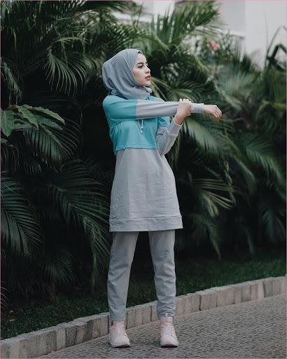 Hijab Sportwear Shopee
