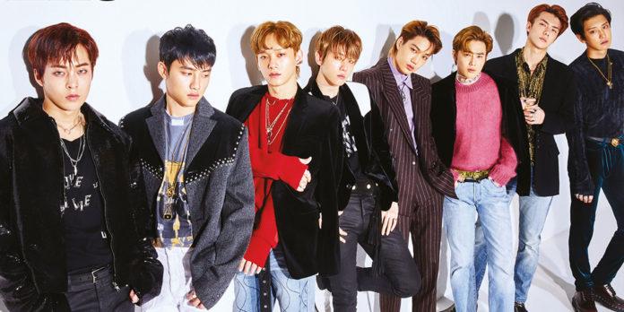 gaya fashion exo