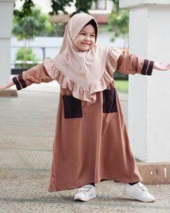 Hijab bergo anak