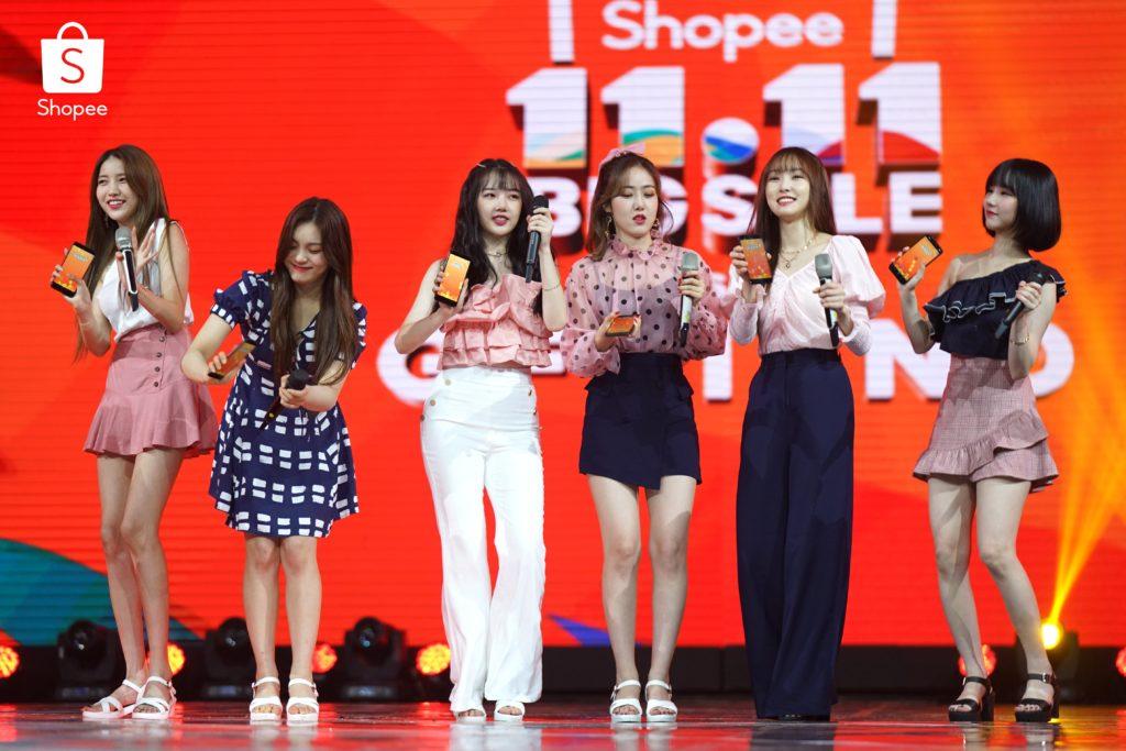 gfriend shopee k-pop