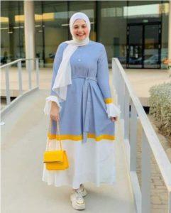 Colorful hijab fashion