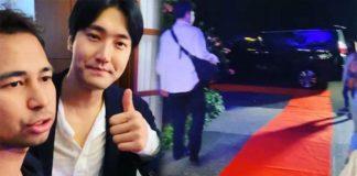 Choi Siwon datang ke rumah Raffi Ahmad
