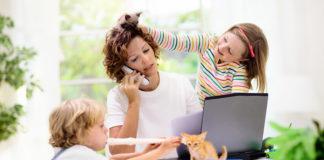 Tips work from home bersama anak