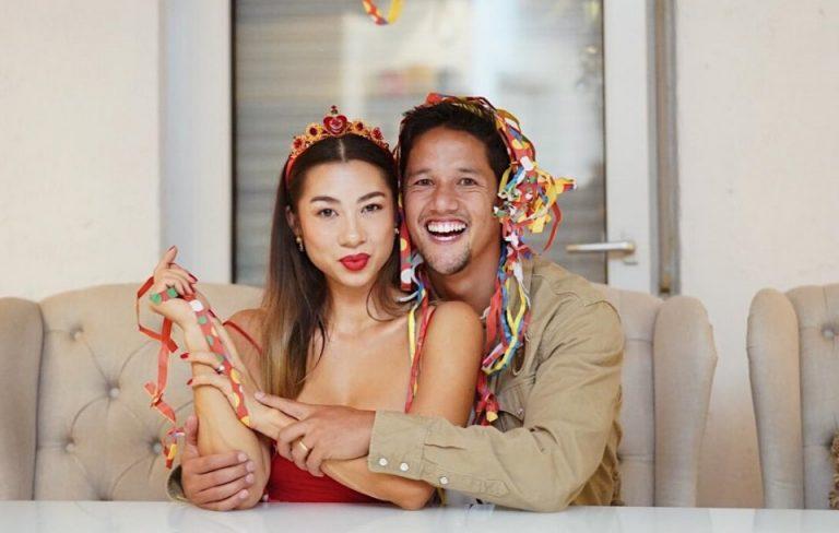 Lengketnya Irfan dan Jennifer Bachdim Bermain TikTok Selama Shopee Liga 1 'Libur'
