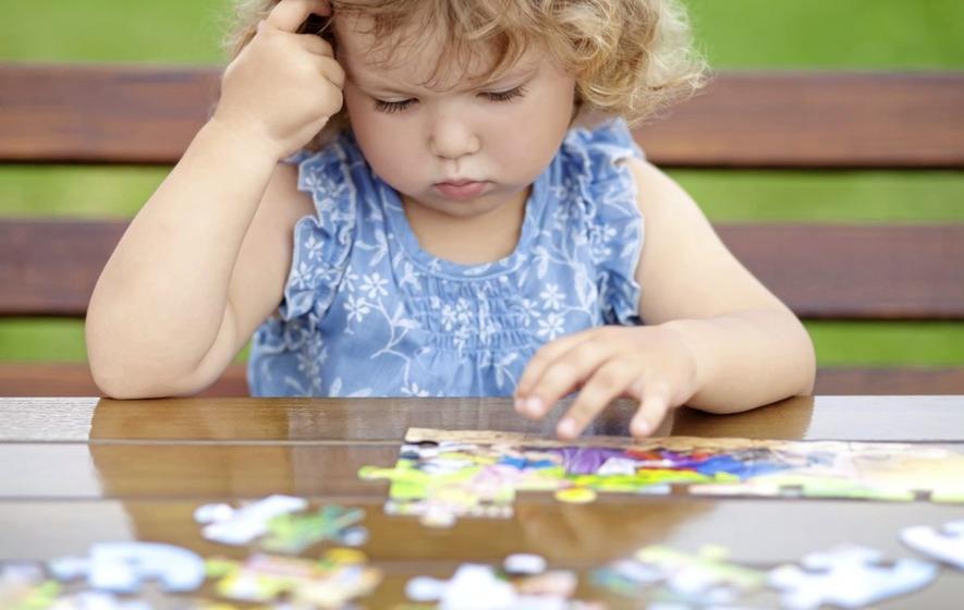 Puzzle anak dengan usia 3 tahun