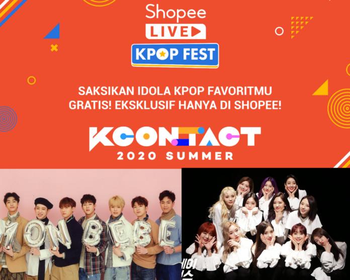Shopee Kpop KCON 2020