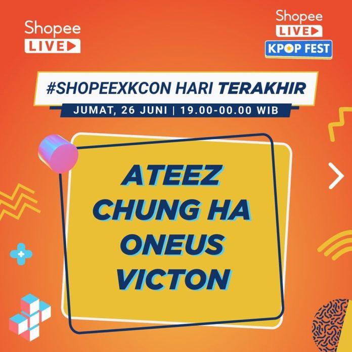 Shopee Live Kpop Fest KCON