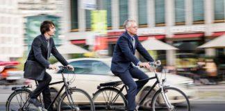 Sepeda lipat bike to work