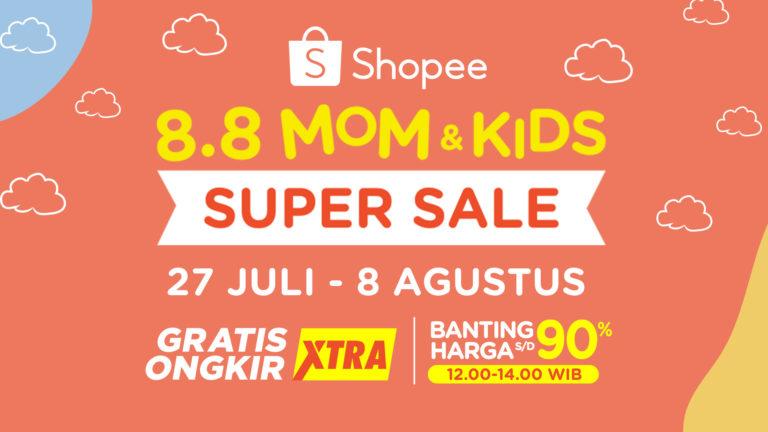 8.8 Mom and Kids Super Sale Dimulai Hari Ini! Yuk, Beli Mainan Bayi untuk Latih Sensorik Si Kecil Sejak Dini