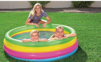 Kolam renang portable anak