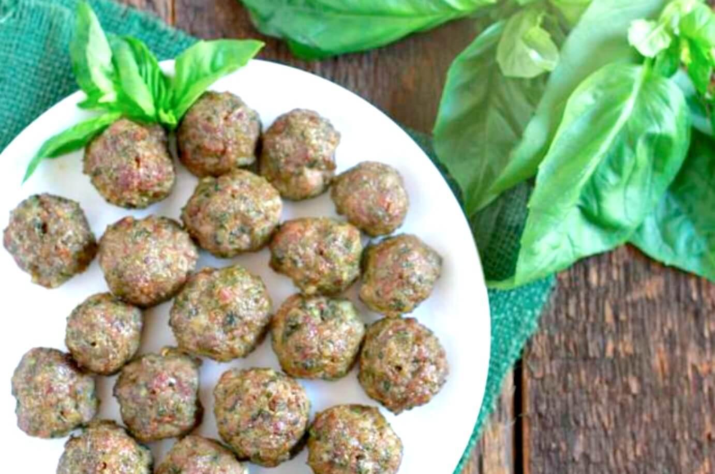 Resep Mpasi Bakso Ayam Pesto Sayuran Inspirasi Shopee