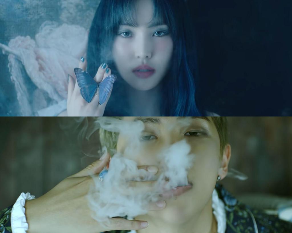 Teori MV Blood Sweat & Tears