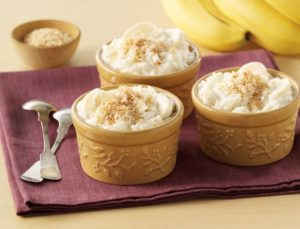 MPASI Banana pudding