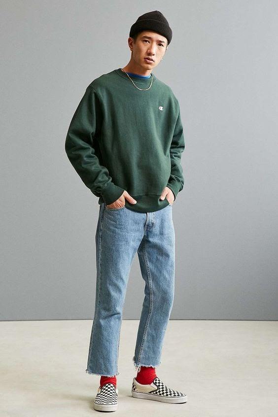 Celana jeans shopee fashion pria
